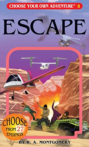 Escape Choose Your Own Adventure By Montgomery R A Book