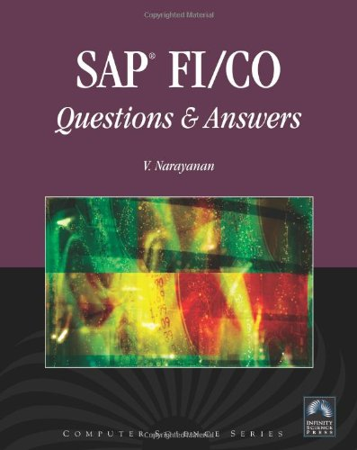 SAP FI/CO Questions and Answers By V. Narayanan
