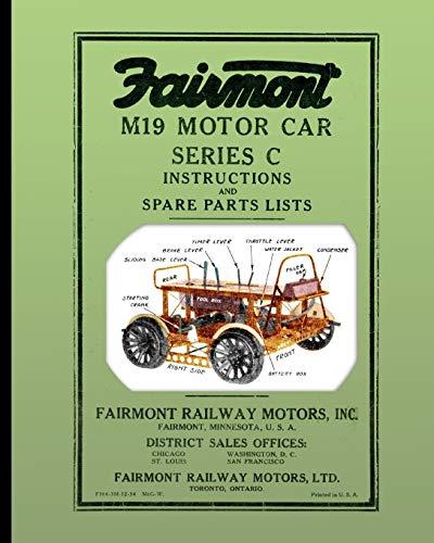 Fairmont M19 Motor Car Series C By Fairmont Railway Motors Inc