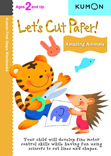 Let's Cut Paper! Amazing Animals By Kumon