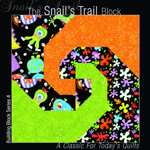 The Snail's Trail Block By Editors of All American Crafts Publishing Inc
