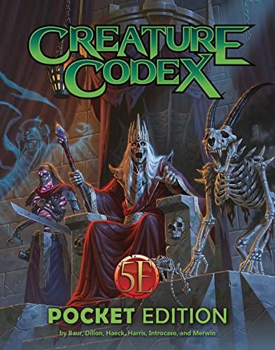 Creature Codex Pocket Edition By Wolfgang Baur
