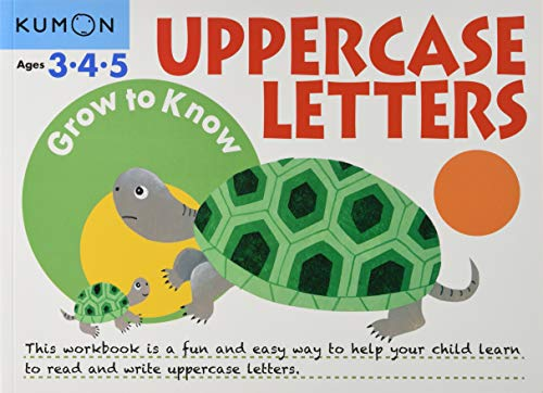 Grow to Know: Uppercase Letters (Ages 3 4 5) By Kumon