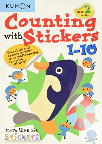 Counting with Stickers 1-10 By Kumon