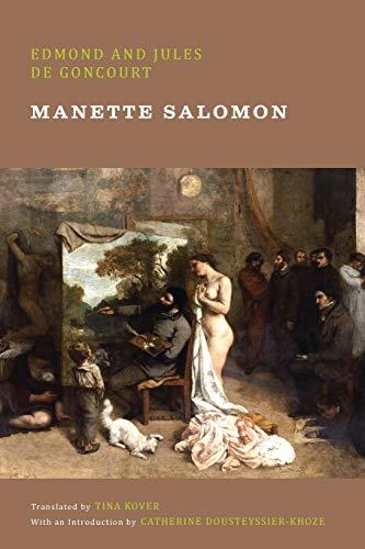 Manette Salomon By Edmond de Goncourt