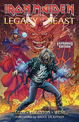 Iron Maiden Legacy of the Beast Expanded Edition Volume 1 By Llexi Leon