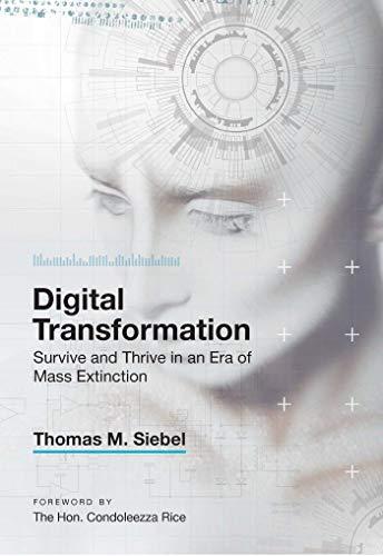 Digital Transformation By Thomas M. Siebel