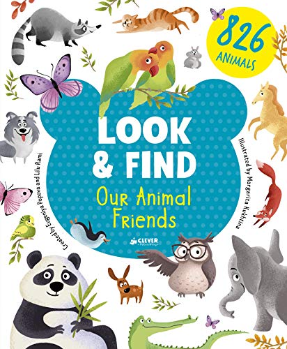 Our Animal Friends By Clever Publishing