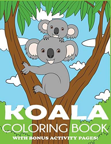Koala Coloring Book By Blue Wave Press