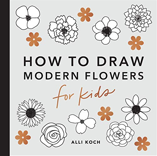 How to Draw Modern Florals for Kids By Alli Koch
