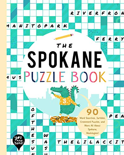 The Spokane Puzzle Book By Bushel & Peck Books