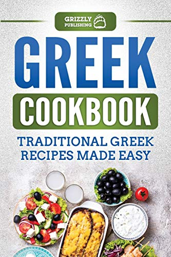 Greek Cookbook By Grizzly Publishing