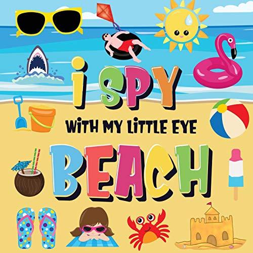 I Spy With My Little Eye - Beach By Pamparam Kids Books