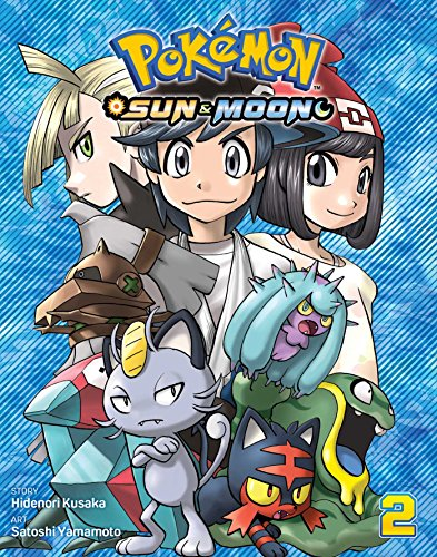 Pokemon: Sun & Moon, Vol. 2 By Satoshi Yamamoto