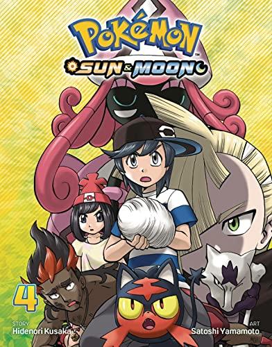 Pokemon: Sun & Moon, Vol. 4 By Satoshi Yamamoto