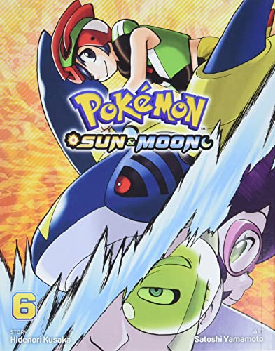 Pokemon: Sun & Moon, Vol. 6 By Hidenori Kusaka