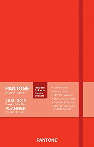 2019 Pantone Planner Weekly Tomato Red Diary By BrownTrout Publishers Ltd
