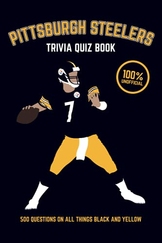 Pittsburgh Steelers Trivia Quiz Book By Chris Bradshaw