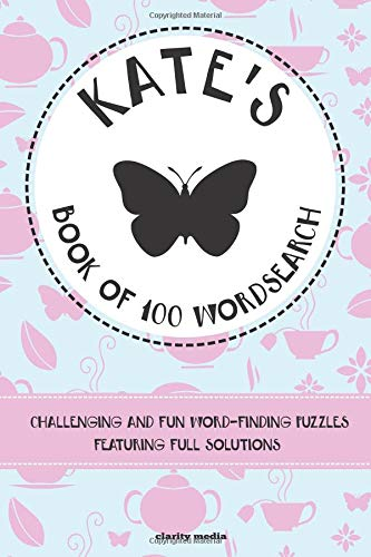 Kate's Book of Wordsearch By Clarity Media