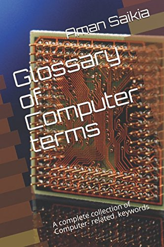 Glossary of Computer terms By Aman Saikia