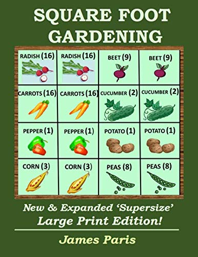 Square Foot Gardening By James Paris