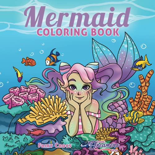 Mermaid Coloring Book By Young Dreamers Press