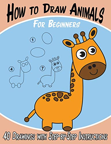 How to Draw Animals for Beginners von Keep 'em Busy Books