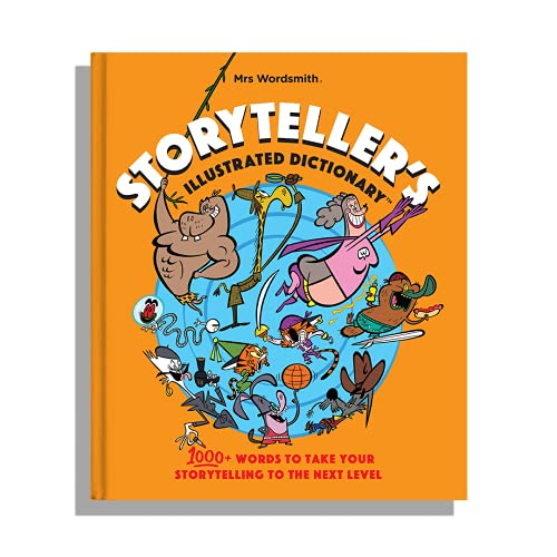 Storyteller's Illustrated Dictionary (UK Edition) By Mrs Wordsmith
