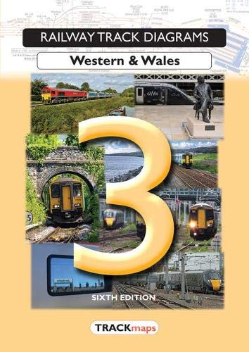 Railway Track Diagrams Book 3, Western & Wales By Myles Munsey
