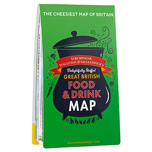 ST&G's Ludicrously Moreish Great British Food & Drink Map By Tincleton & Giggleswick