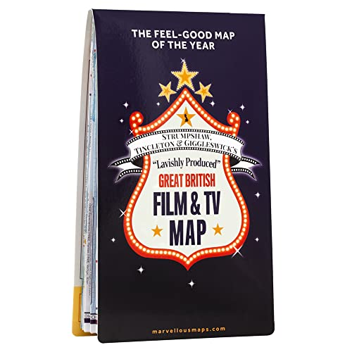ST&G's Great British Film & TV Map By Tincleton & Giggleswick