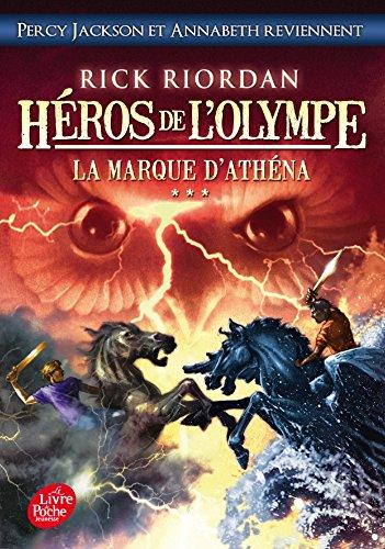 Heros de l'Olympe 3/La marque d'Athena By Rick Riordan
