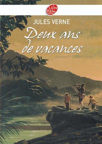 Deux ans de vacances - Texte Abrégé (Livre de Poche Jeunesse (728)) By Jules Verne