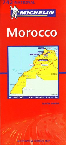 Morocco 2003 (Michelin National Maps) Sheet map, folded Book The Fast Free