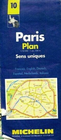Plan of Paris By Michelin Travel Publications