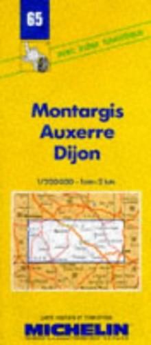 Montargis-Auxerre-Dijon By Michelin Travel Publications