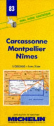 Carcassone-Montpellier-Nimes By Michelin Travel Publications