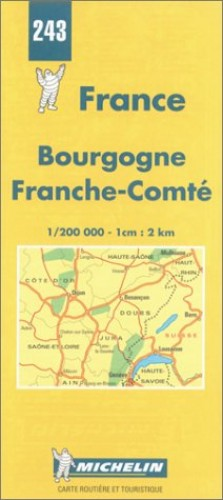 Bourgogne-Franche-Comte By Michelin Travel Publications