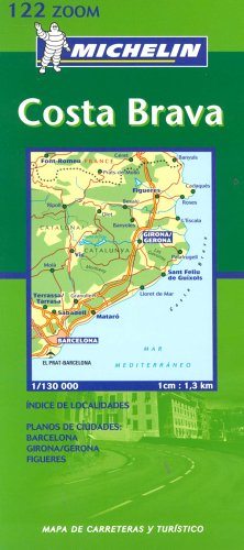 Costa Brava 2003 (Michelin Zoom Maps) by Unknown Author