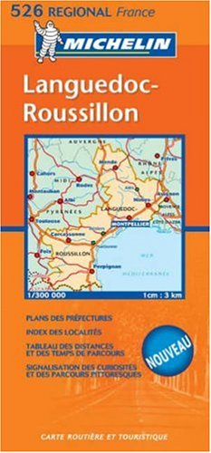 Languedoc Roussillon By Michelin Travel Publications