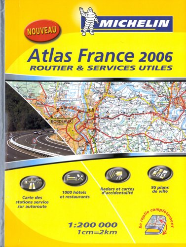 AT.20200 ROUTEUR FRANCE 2006 (ATLAS (25090)) By Michelin