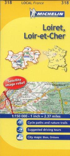 Loiret, Loir-et-Cher By Michelin