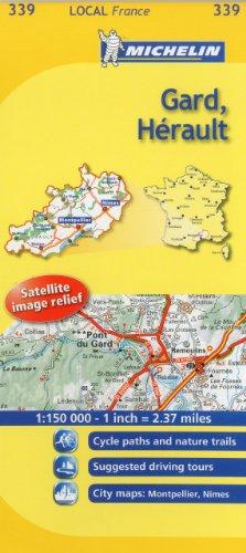 Gard, Herault By Michelin