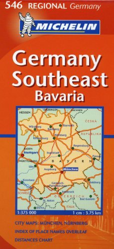 Germany Southeast - Bavaria by Michelin