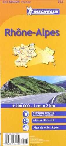 Rhone-Alpes By Michelin