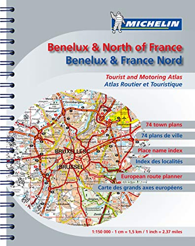 Road Atlas Benelux and N. France By Michelin