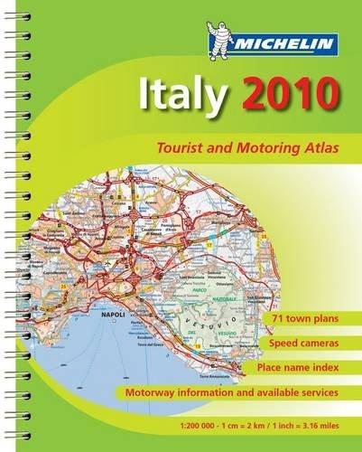 MOT Atlas Italy By Michelin