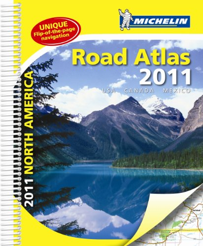 Atlas USA, Canada, Mexico By Michelin
