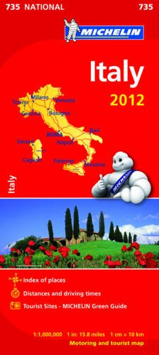 Italy 2012 By Michelin