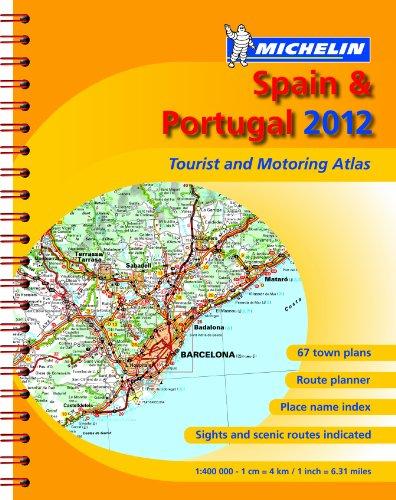 Atlas Spain & Portugal 2012 By Michelin